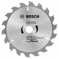 Пильный диск BOSCH Eco for Wood 160×20/16-18Т